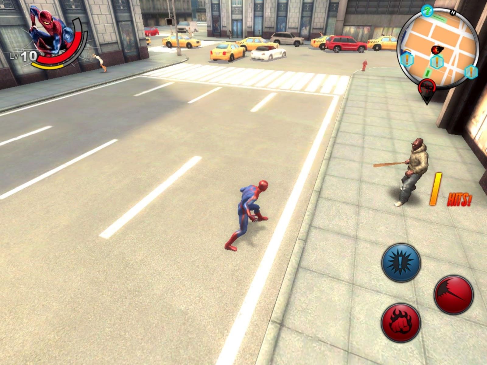 скачать игру человек паук
