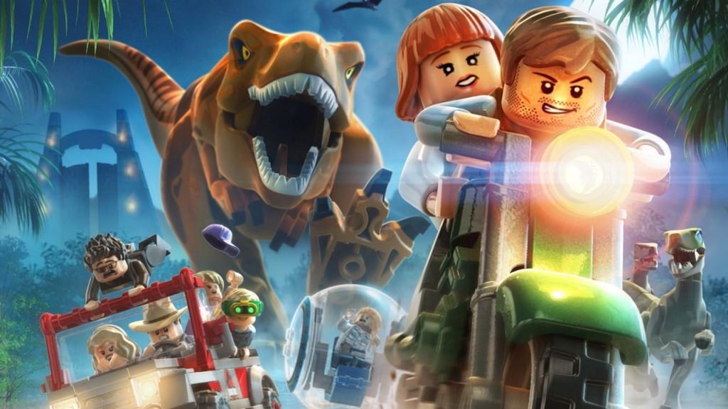 скачать lego jurassic world