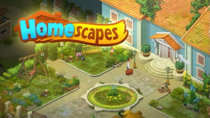скачать взломанную игру Homescapes