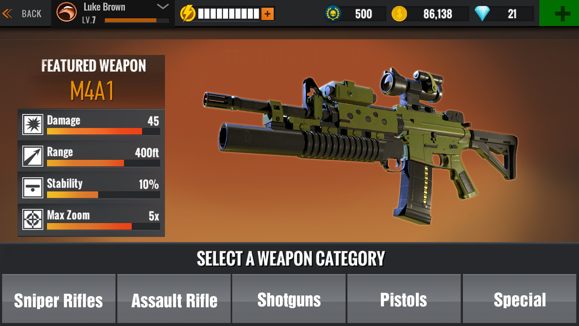 Снайпер 3Д Ассасин
