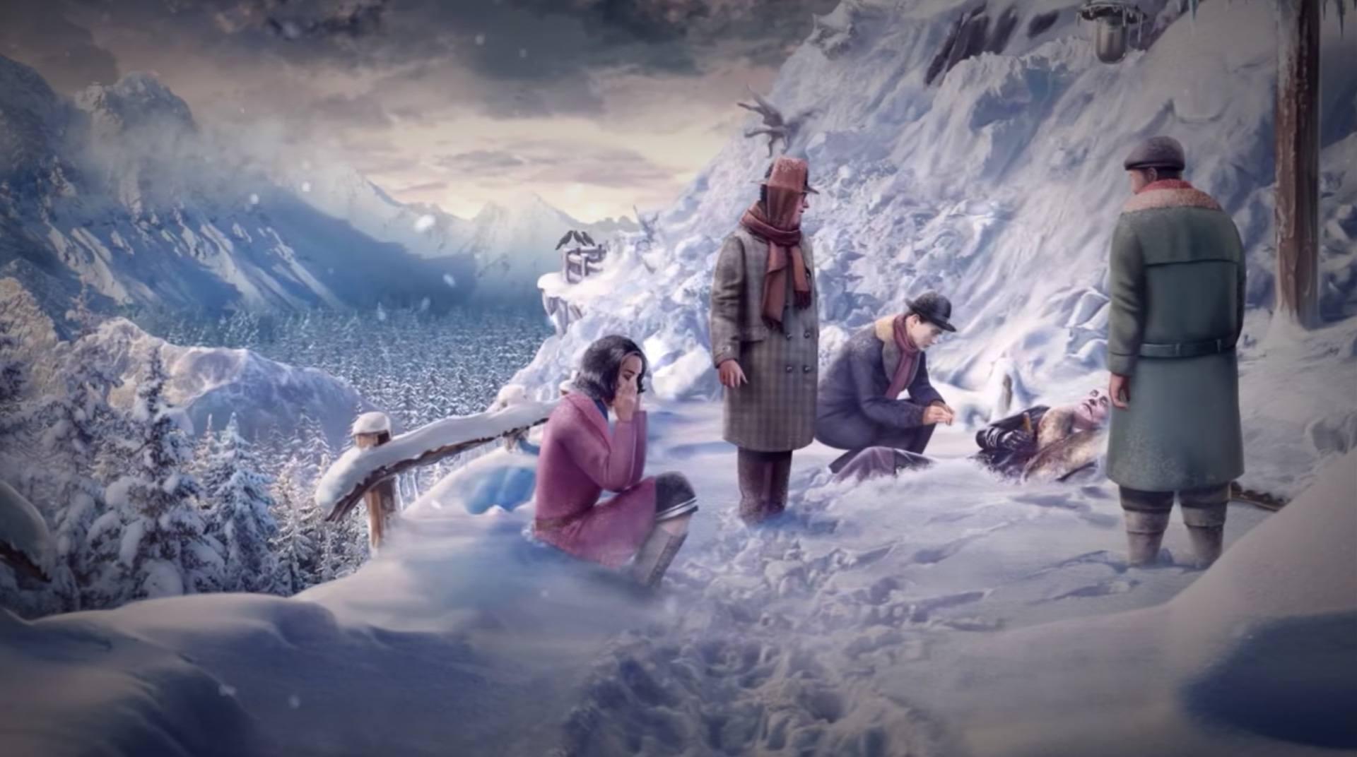 убийство в альпах игра