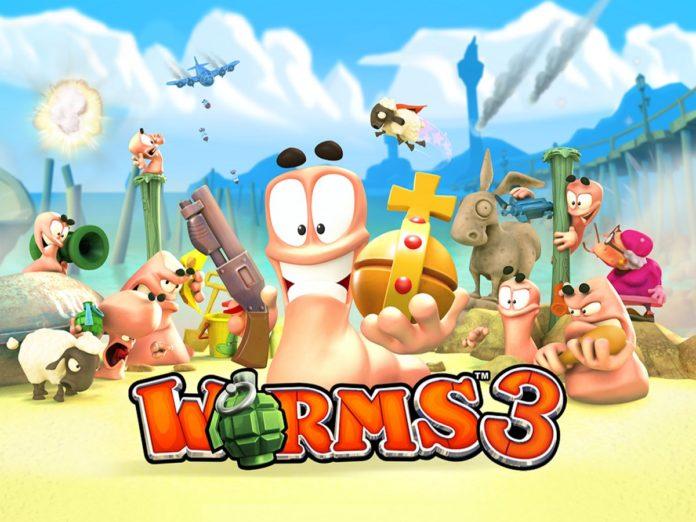 worms 3 скачать на андроид
