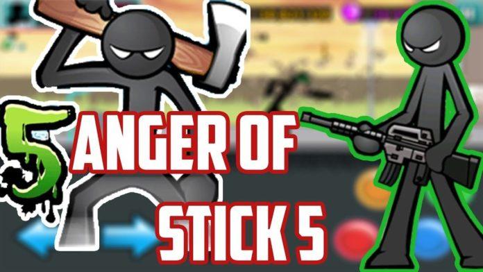 скачать взлом anger of stick 5