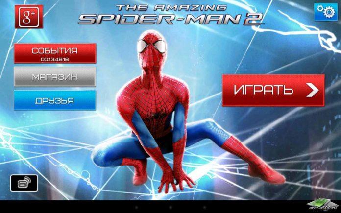 скачать человек паук 2
