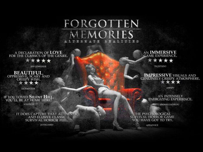 forgotten memories скачать на андроид