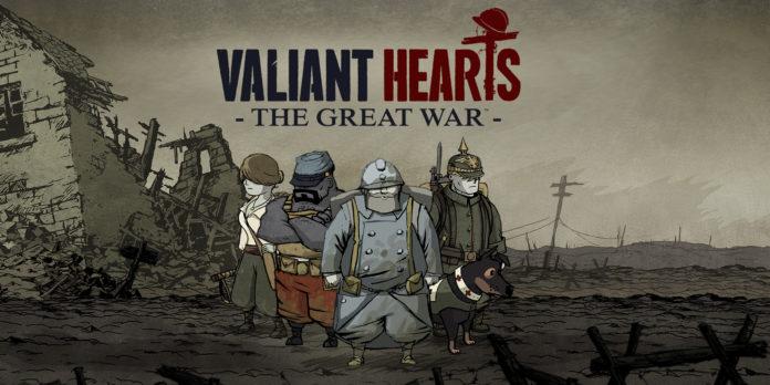 скачать valiant hearts the great war