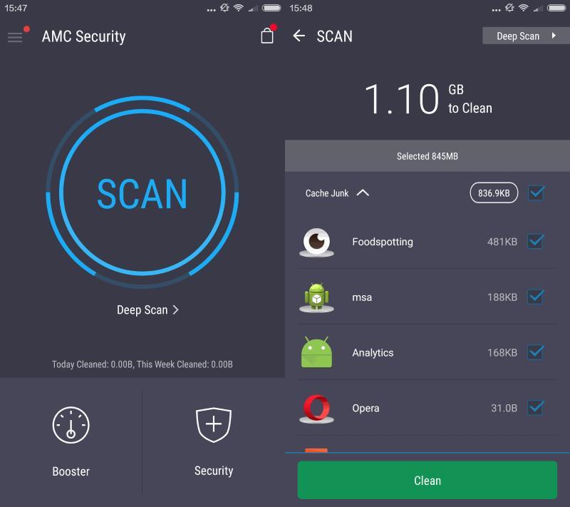 amc security pro для андроид