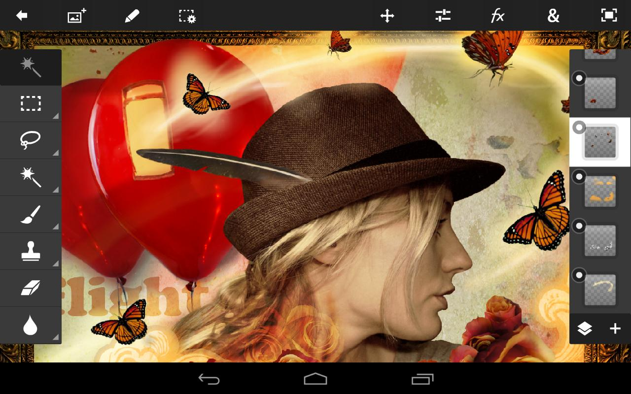 adobe photoshop touch для android