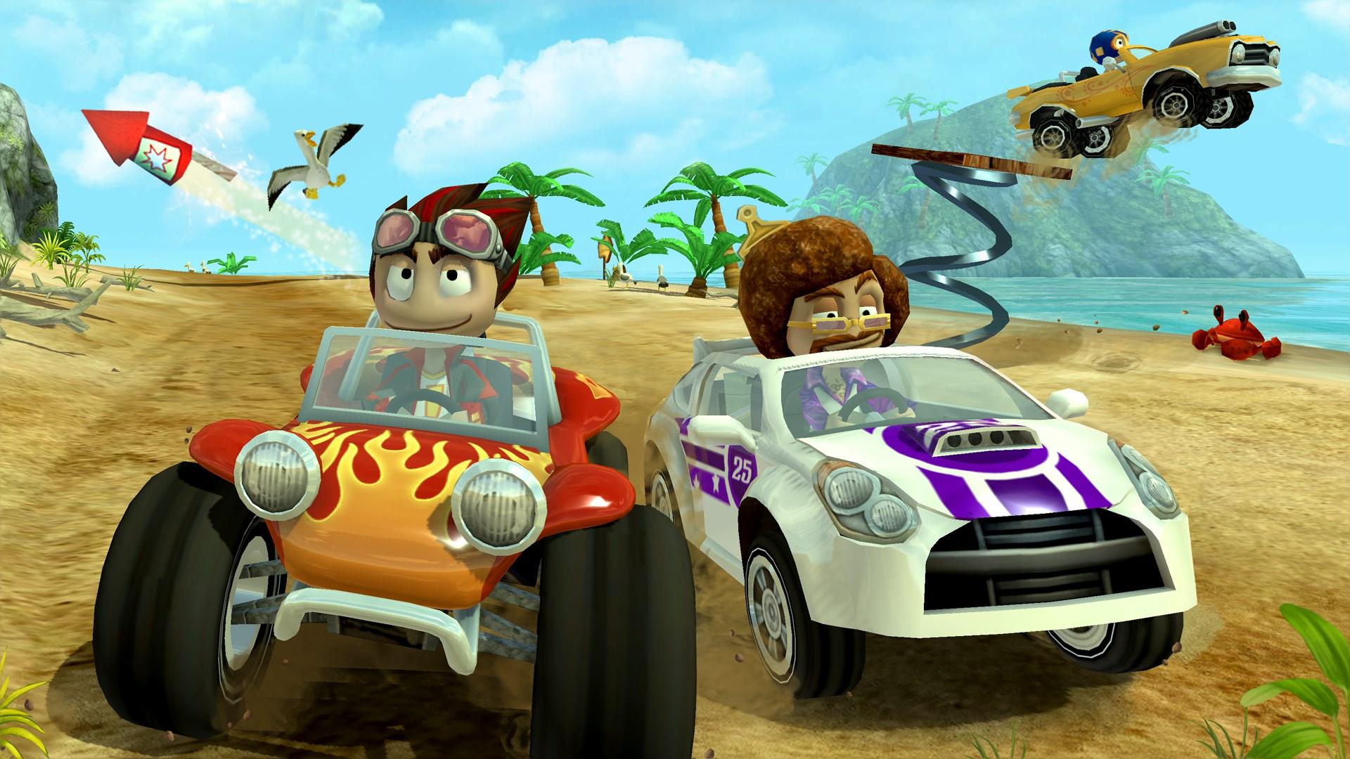 скачать взлом beach buggy racing