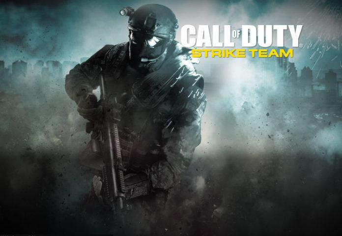 call of duty strike team на андроид