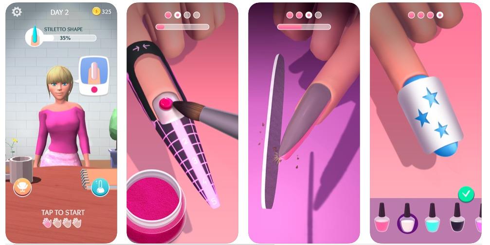 acrylic nails скачать игру на андроид