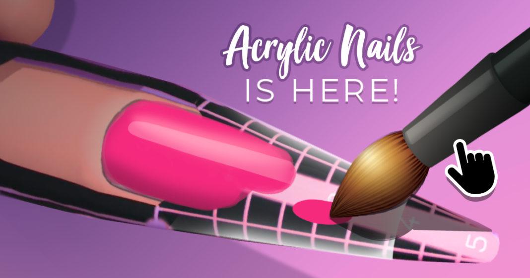 скачать игру acrylic nails