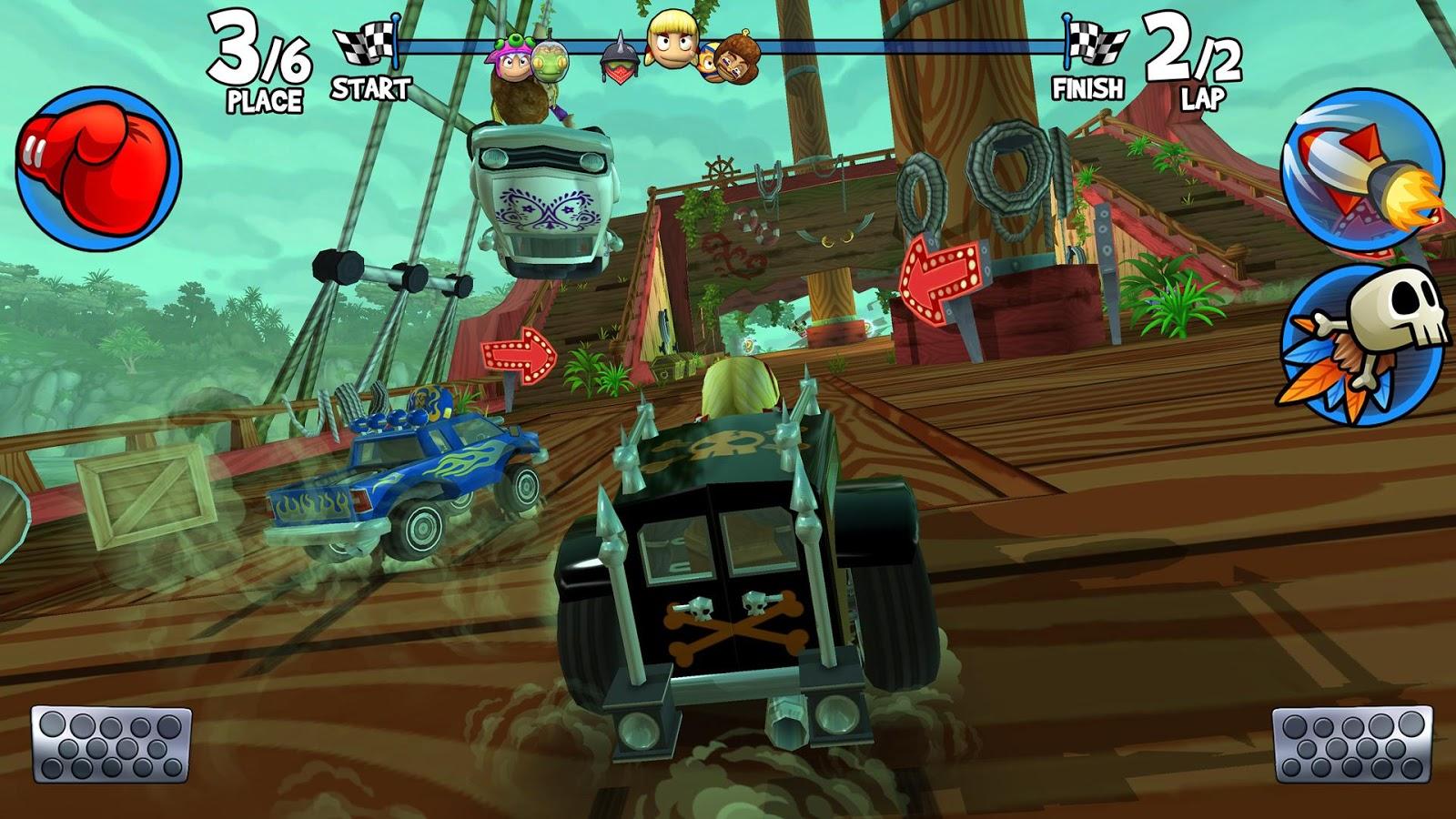 скачать взлом beach buggy racing 2