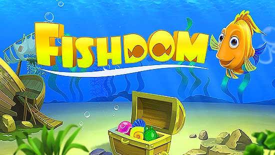 скачать взломанную игру fishdom