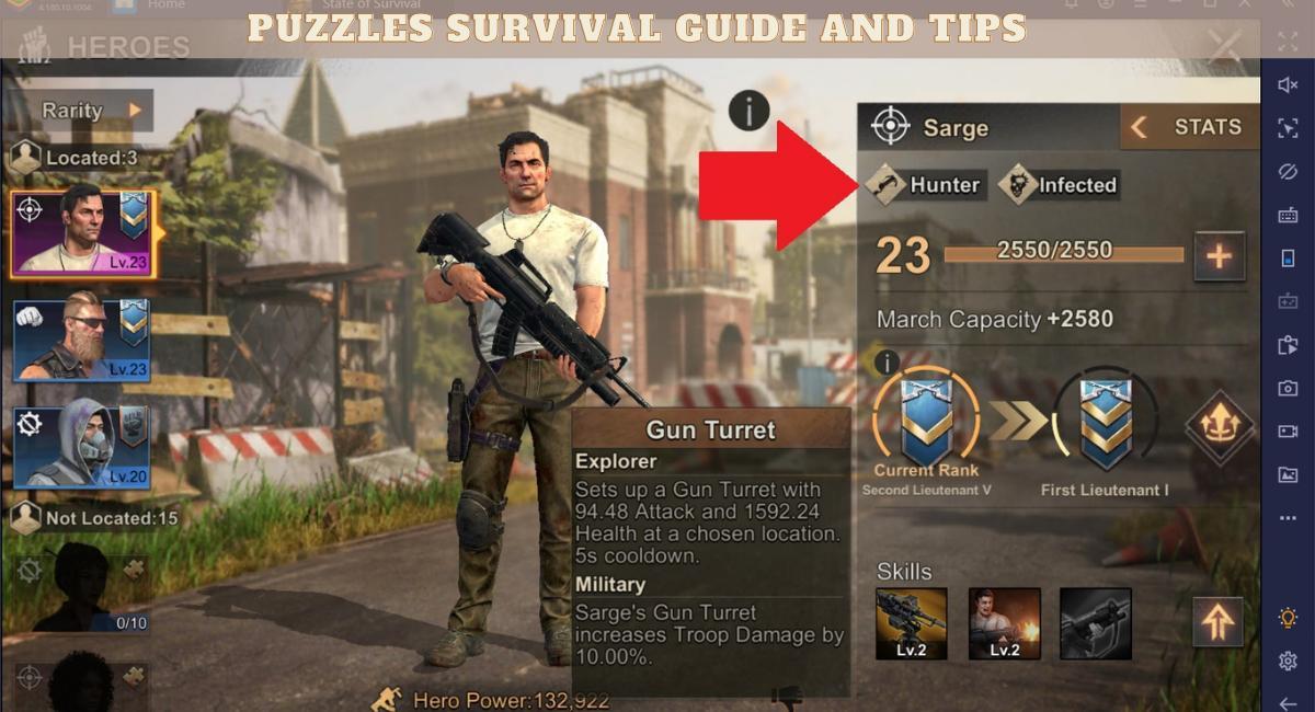 puzzles survival гайд