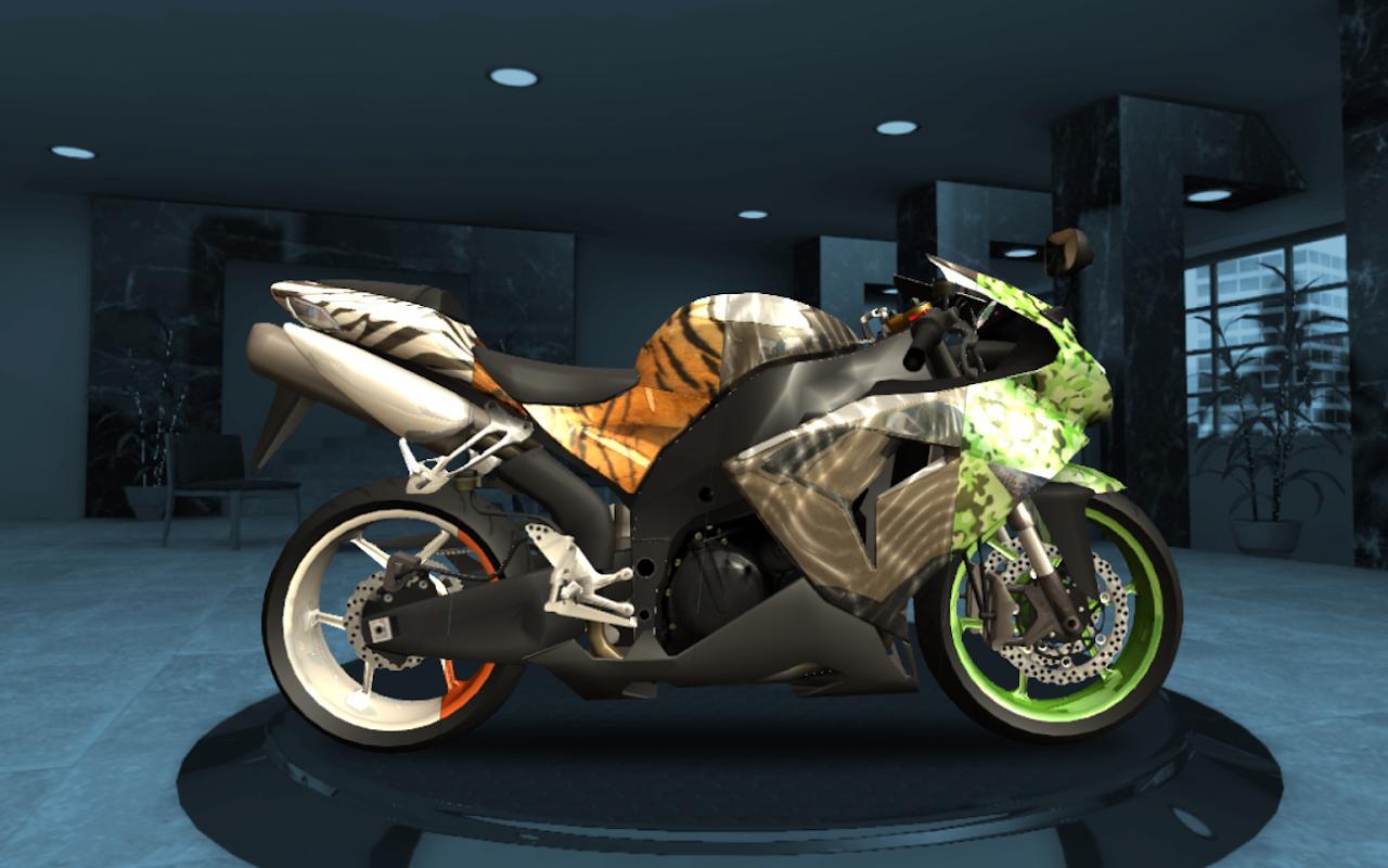 скачать взломанную игру racing fever moto