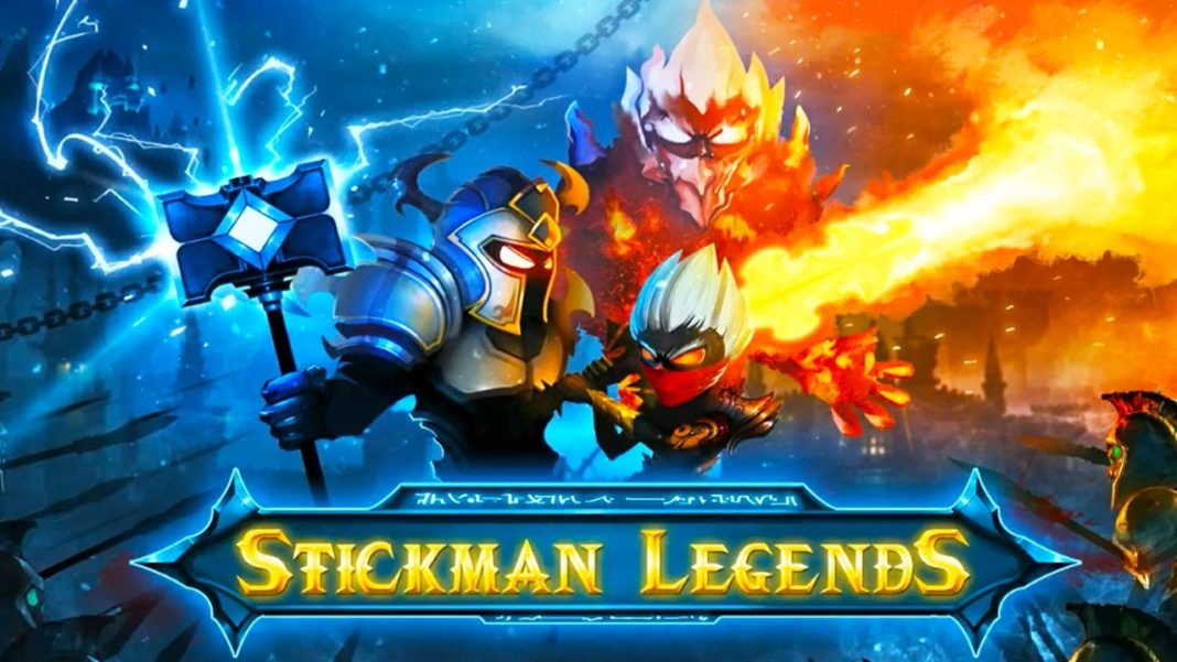 скачать stickman legends