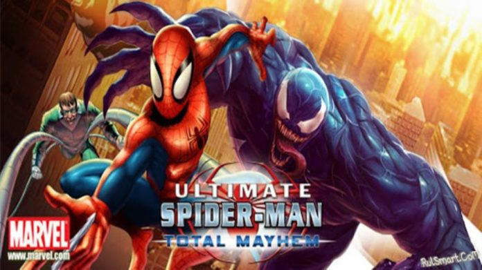 скачать spider man total mayhem