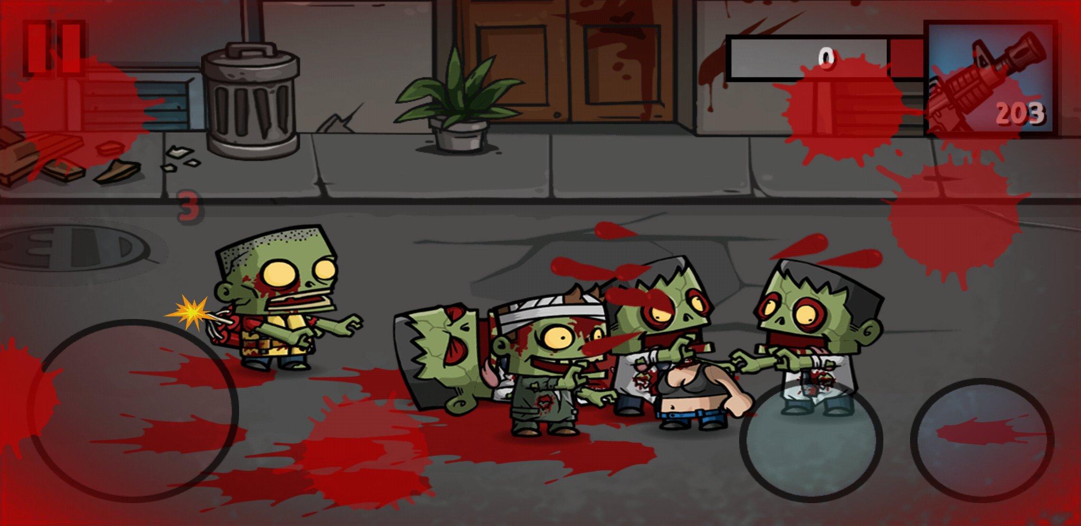 скачать взломанную игру zombie age 3