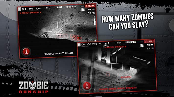 zombie gunship survival мод
