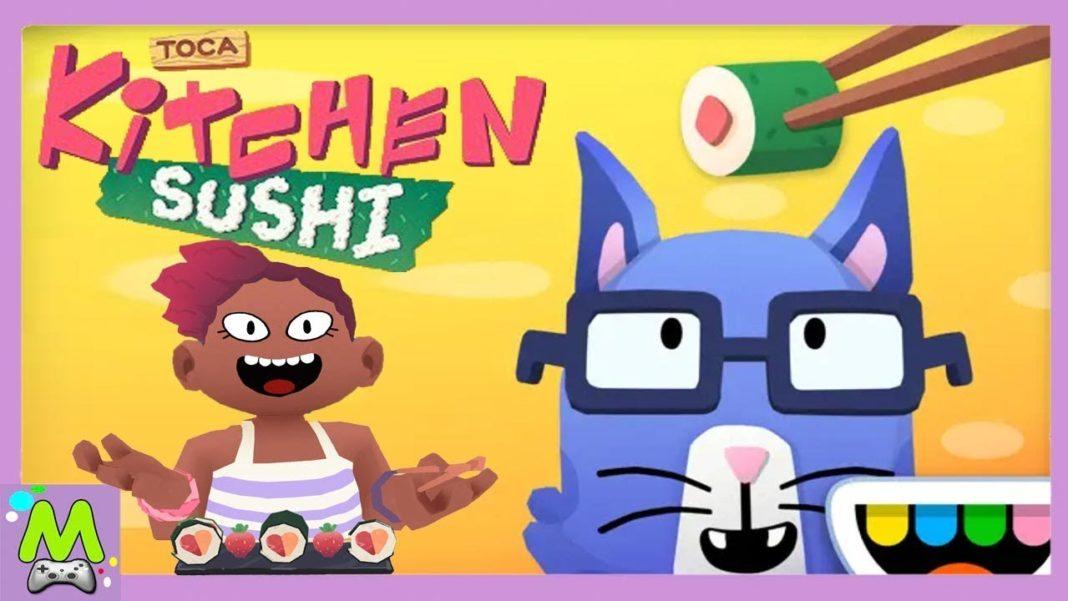 toca kitchen sushi скачать