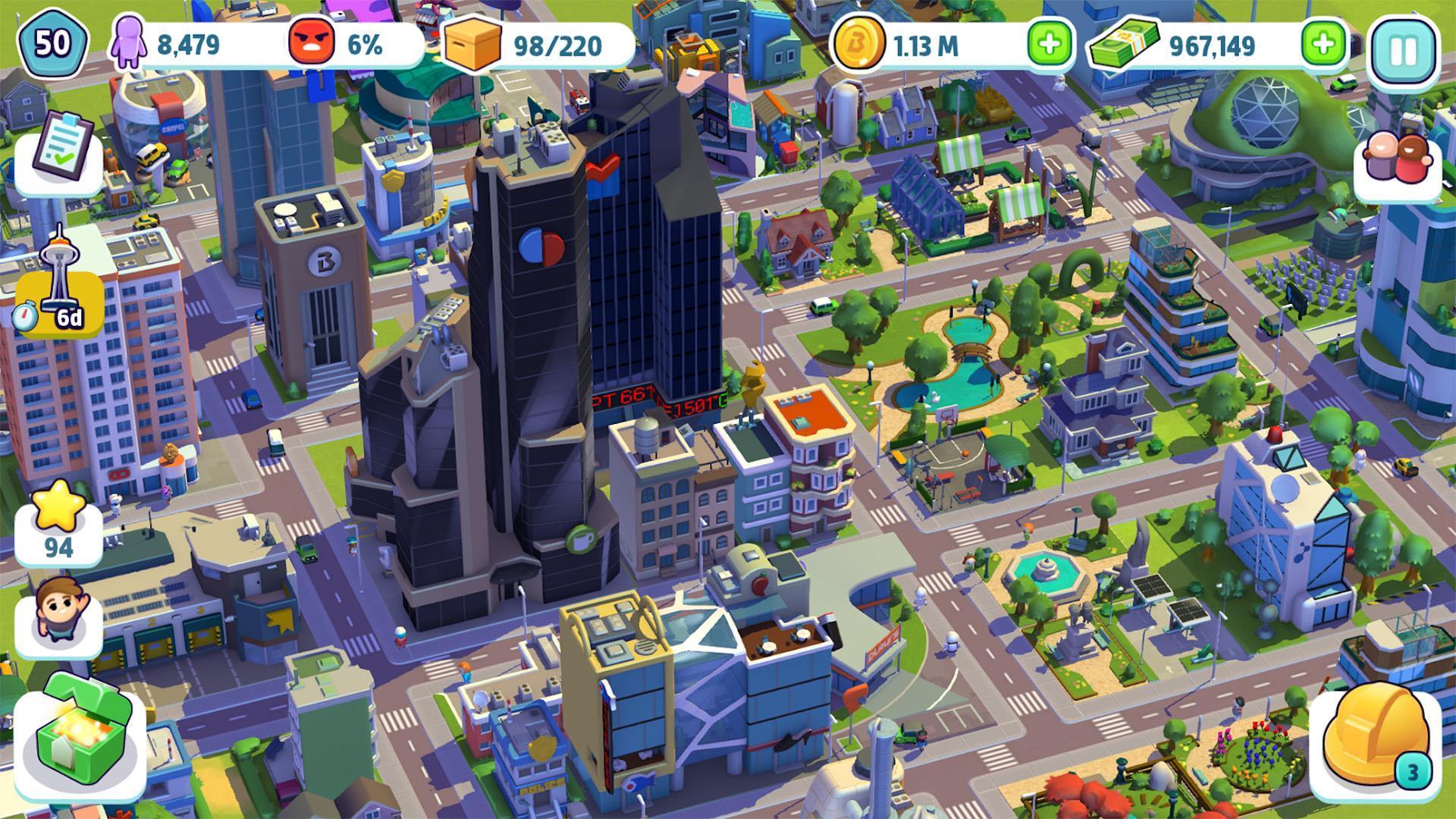 ситимания строим город мод много денег