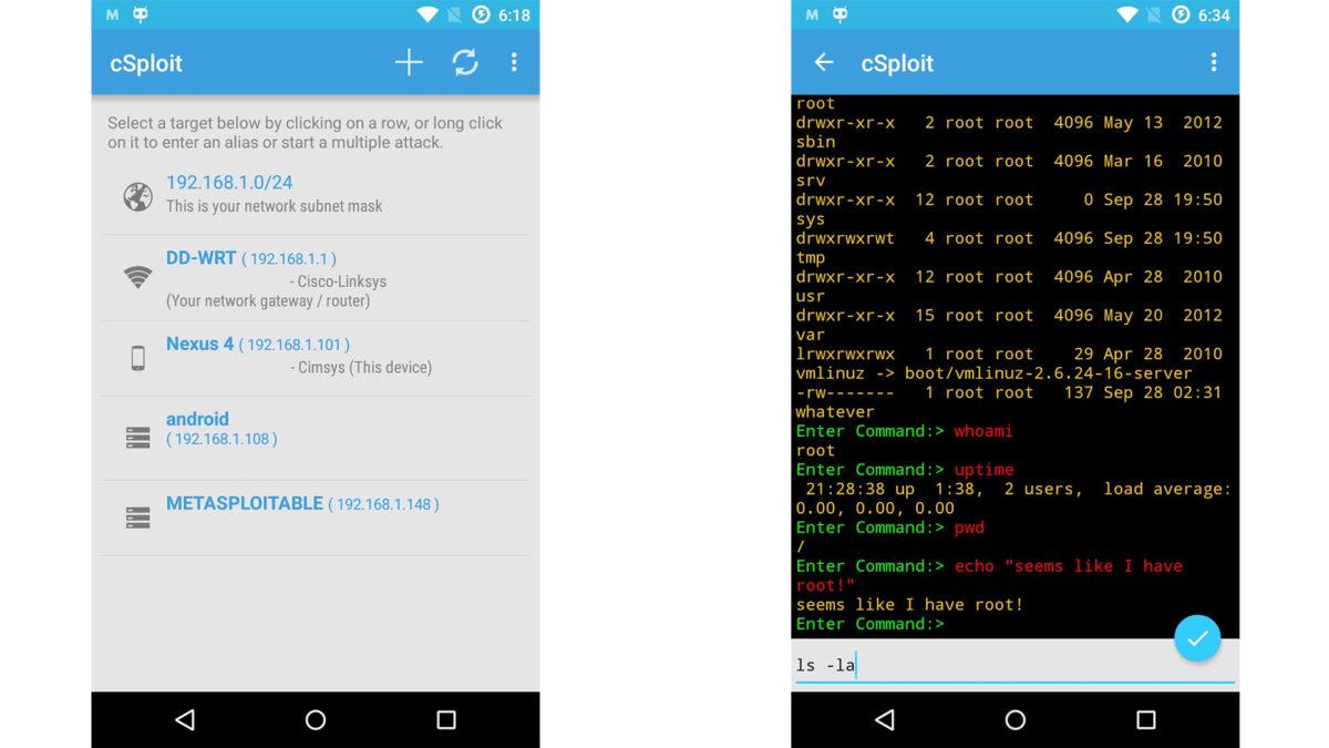 csploit скачать на андроид