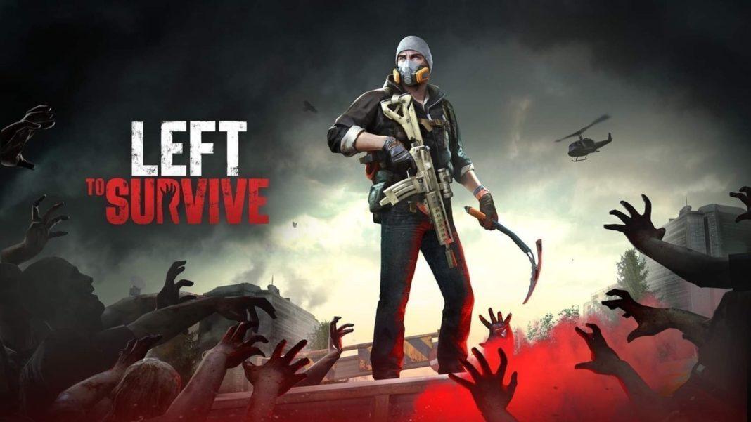 скачать взломанную игру left to survive