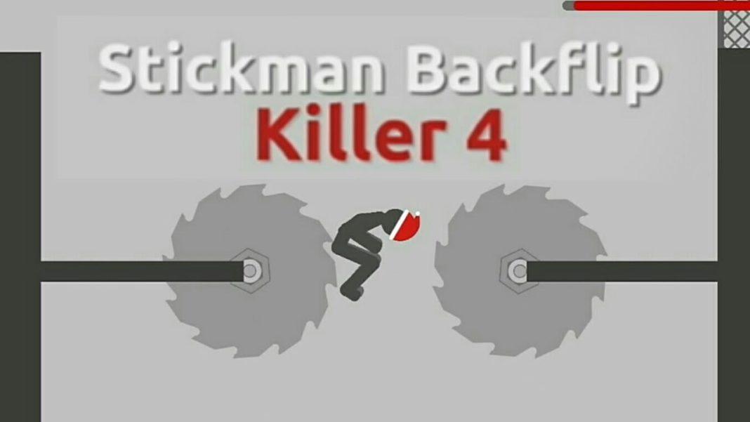 stickman backflip killer 4 играть
