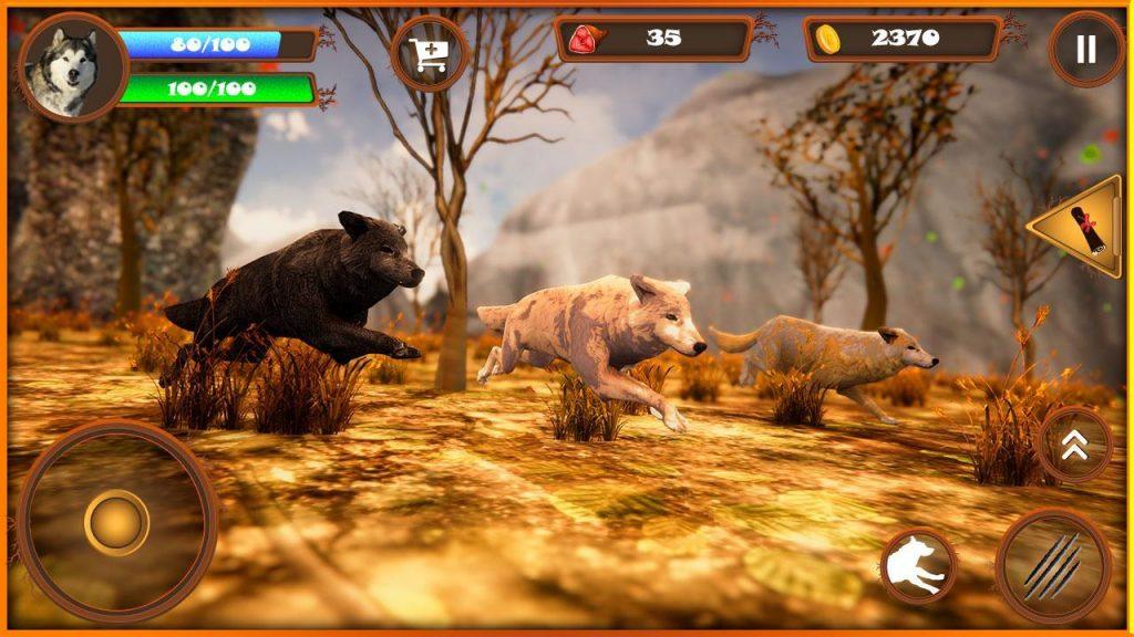симулятор волка скачать