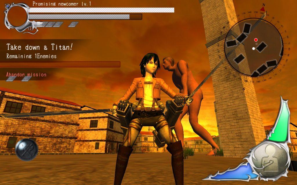 атака титанов игра на андроид